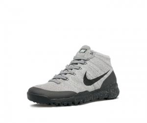 Nike Flyknit Trainer Chukka SFB FSB Light Charcoal Black Dark Grey