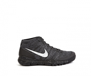 Nike Flyknit Trainer Chukka sfb grey light charcoal black f