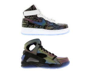 Nike quai54 collection air flight huarache force 1 high p