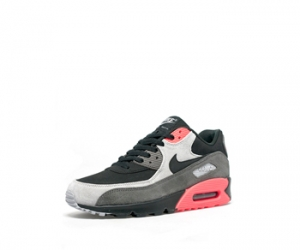 The Drop Date Nike Air Max 90 ltr prm Black Ash Grey Crimson 666578-003 f