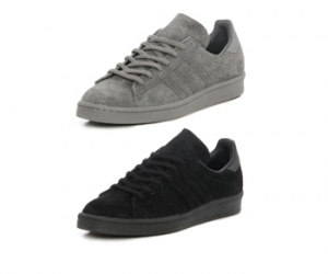 adidas campus 80s monotone black triple grey