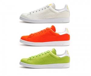 adidas pharrell stan smith 2 tennis ball orange white green f