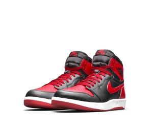 niike air jordan 1.5 the return 1 bred Black Gym Red White 768861-001 f