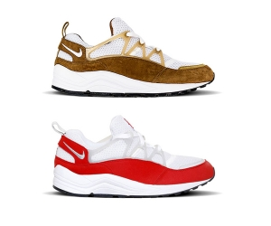 nike air huarache light curry brown white red f