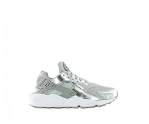 nike air huarache metallic silver f