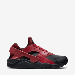 nike air huarache prm gym red and black f