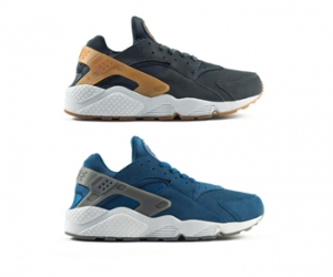 nike air huarache suede anthracite blue force pure platinum cool grey gold yellow f