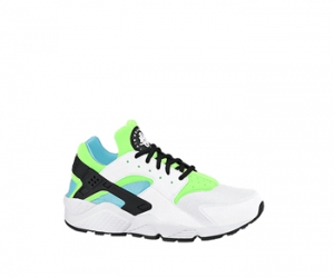 nike air huarache wmns clearwater flash lime white f