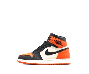 nike air jordan 1 retro shattered backboard orange Black Starfish Sail white 555088-005 f