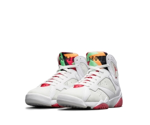nike air jordan 7 retro og hare bugs bunny White Light Silver Tourmaline True Red 304775-125 p