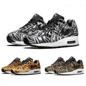 nike air max 1 gs zoo pack cheetah zebra tiger f2