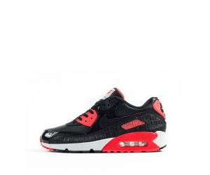 nike air max 90 infrared black croc