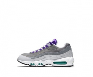 nike air max 95 og grape White Court Purple Emerald Green Wolf Grey 554970-151 f