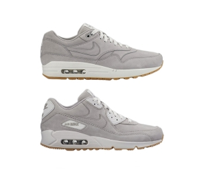 nike air max premium leather pack grey gum 1 90 winter p