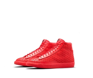 nike blazer mid metric premium university red f