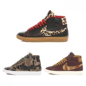 nike blazer vintage safari collection leopard snake jungle p