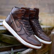 nike dunk high sp burnished leather f
