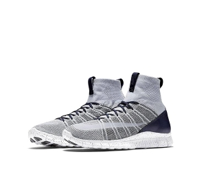 nike free flyknit mercurial yankees pure platinum 805554-001 Summit White Dark Grey Obsidian p