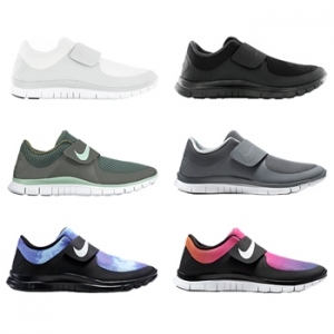 nike free socfly triple black white cool grey persian violet hot pink flash tour yellow p