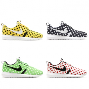 nike roshe one nm polka dot pack f