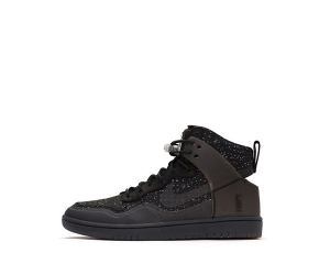 nike x pigalle dunk lux sp high black 806948-001 f