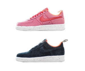 nike x undefeated undftd lunar air force 1 black red f
