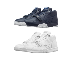 nikecourt air trainer 1 us open navy white x fragment design p