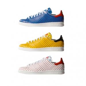 pharrell x adidas stan smith polka f