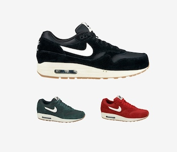 NIKE AIR MAX 1 - SUEDE PACK - AVAILABLE NOW